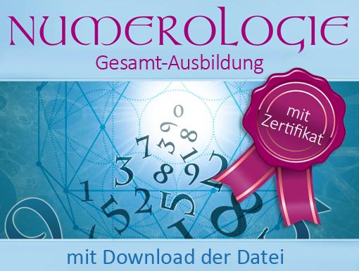 Seminare - Ausbildung zum/zur Numerologen/Numerologin